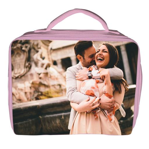 Lunch Bag - Polyester - Pink